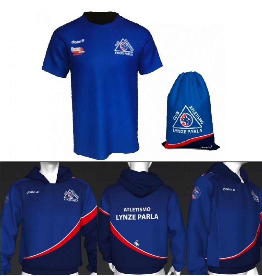 Ya podéis recoger las camisetas y sudaderas!! - Club Atletismo Lynze ... 2b5c0875b50fb