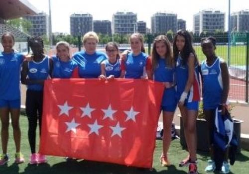 Campeonato de España infantil por equipos. Castellón 18/19-06-2016