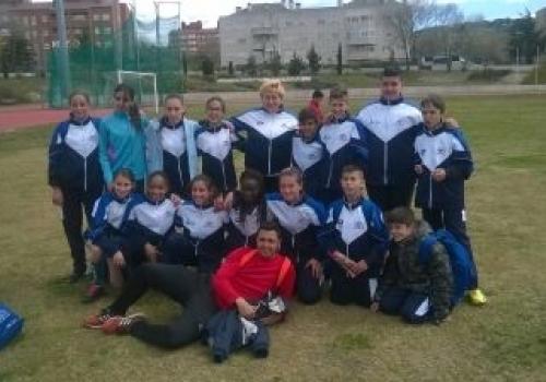 Campeonato Madrid Clubes infantil Collado-Villalba 09-04-2016